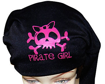 Pirate Girl with Bow Headwrap