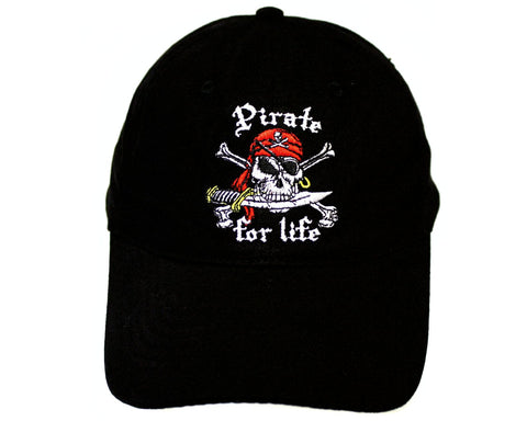 Pirate for Life Cap