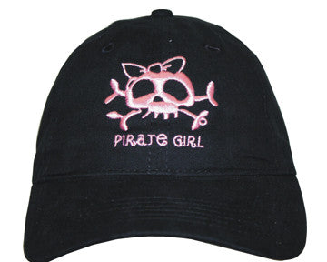 Pirate Girl with Bow Cap