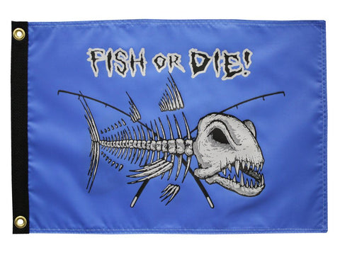 Fish Or Die Flag