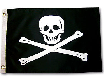 "Jolly Roger Flag-USA- 12"" x 18"""