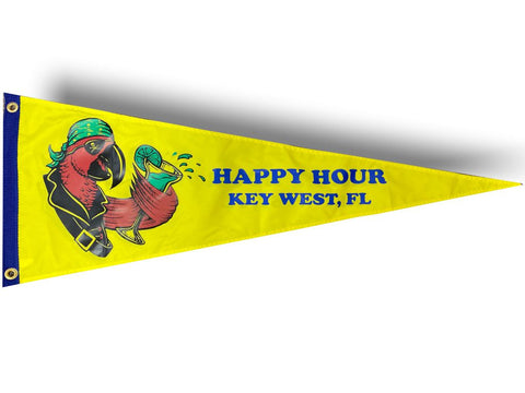 Happy Hour Parrot- Key West