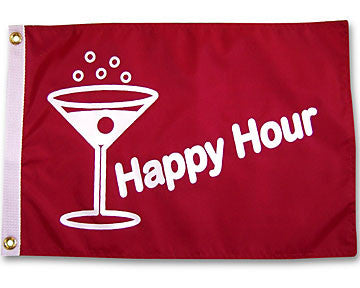 Happy Hour Martini Flag