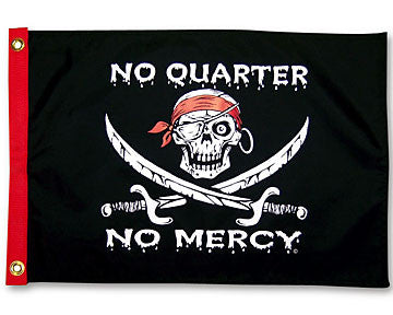 No Quarter No Mercy Flag