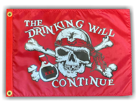 The Drinking Will Continue-USA