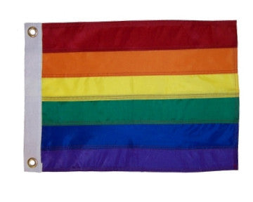 Rainbow Flag - Applique