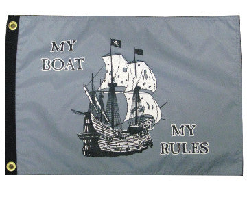 My Boat My Rules Flag