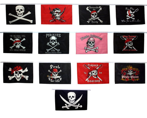Novelty Pirate Flag String