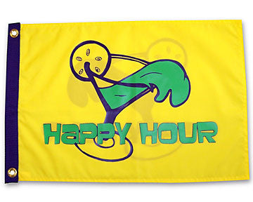 Happy Hour Margarita Flag
