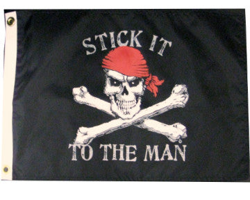 Stick It To The Man Flag