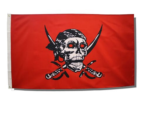 Caribbean Pirate Flag- 3ft x 5ft