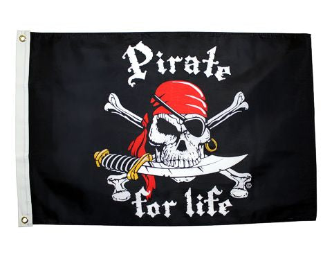 Pirate For Life- 3ft x 5ft