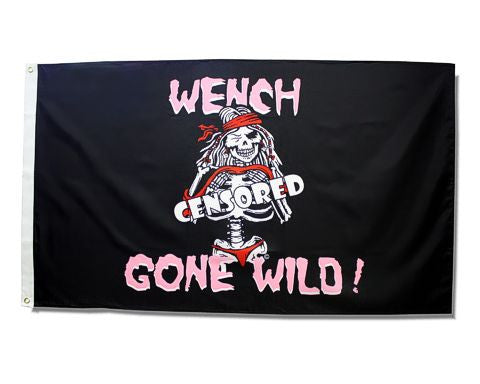 Wench Gone Wild Flag
