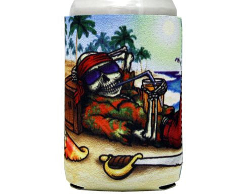 Rum Pirate Can Cooler