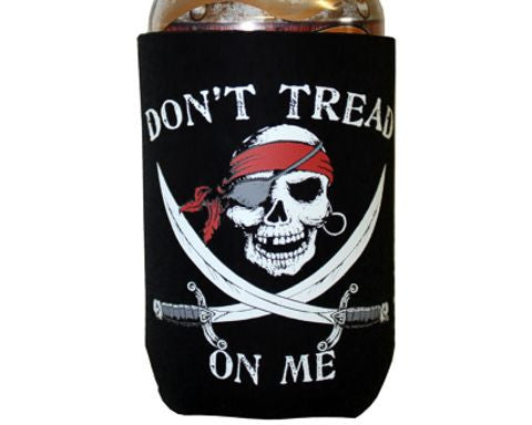 Don't Tread On Me Pirate Can Cooler