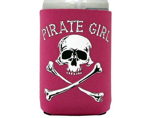Pirate Girl Can Cooler
