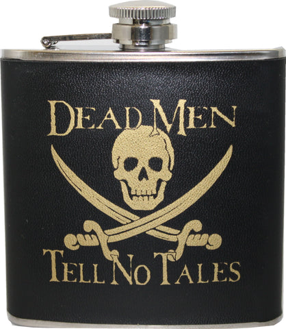 Dead Men Tell No Tales Flask