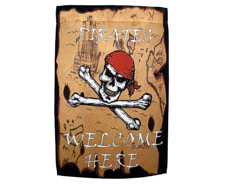 Pirates Welcome Here Banner