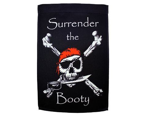 Surrender The Booty  Banner