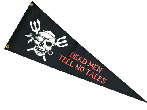 Dead Men Tell No Tales Pennant