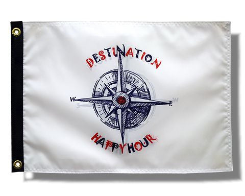 Destination Happy Hour Flag