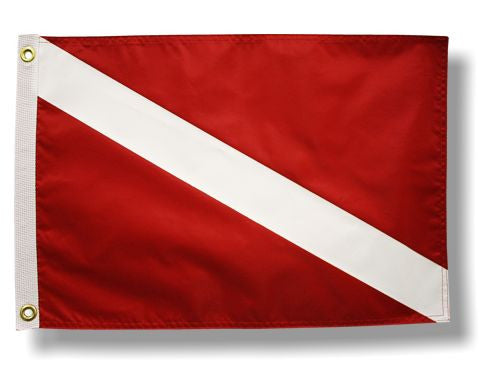 USA Made Diver Down Flag