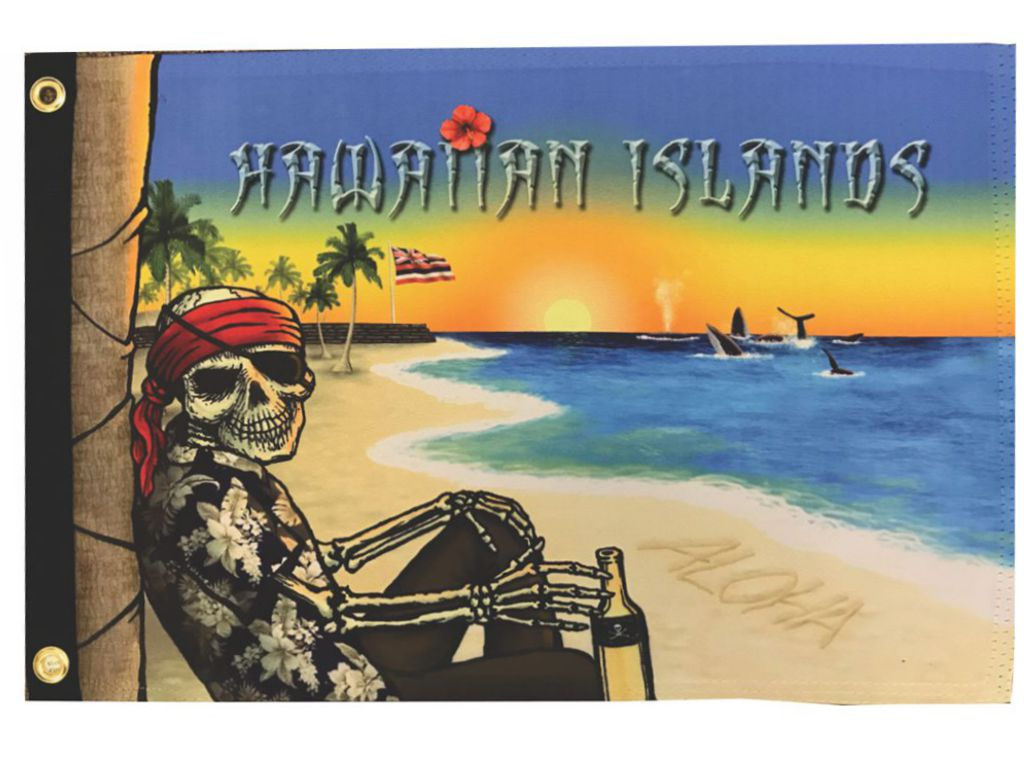 Hawaiian Islands Pirate Flag