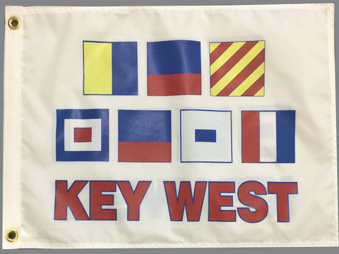 Nautical Signal Flag- Key West