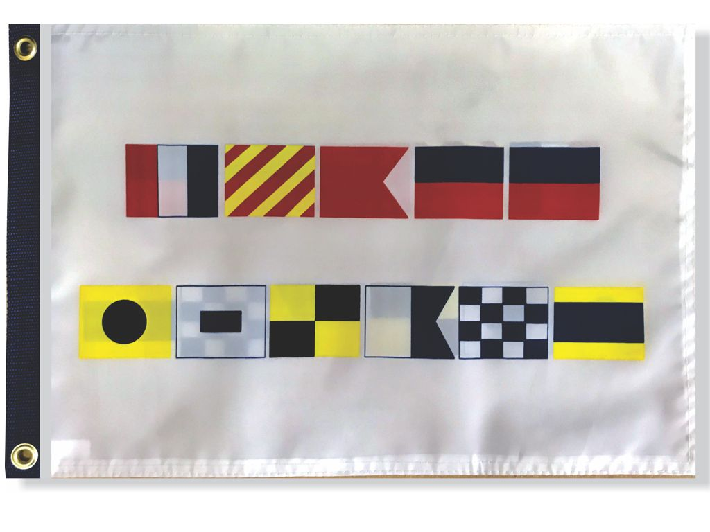 Nautical Signal Flag- Tybee Island