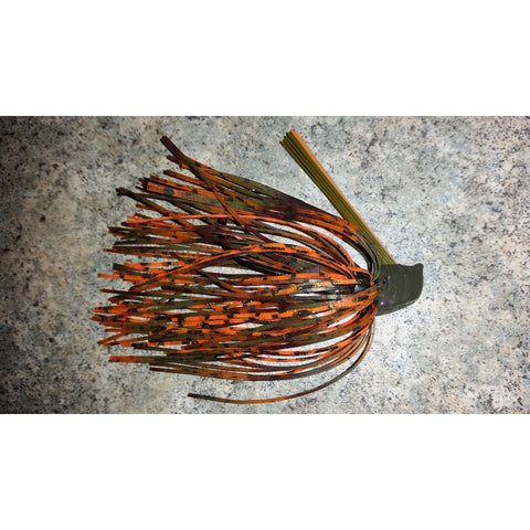 DepthCharge Flippin' Jig - Rusty Craw - T&T Tackle, Depth Charge Flippin' Jig  Bass Jigs, Spinner Baits, Swim Jigs, Buzzbaits, Custom, Rod Sleeves, Fish Scent, Bass Tackle, Trapper Hooks, Swing Jigs, Wobble Heads, Bass Tackle, Apparel, Fishing Line, Bass Braid, Fluorocarbon
