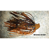 Brown Craw - T&T Tackle, Depth Charge Flippin' Jig  Bass Jigs, Spinner Baits, Swim Jigs, Buzzbaits, Custom, Rod Sleeves, Fish Scent, Bass Tackle, Trapper Hooks, Swing Jigs, Wobble Heads