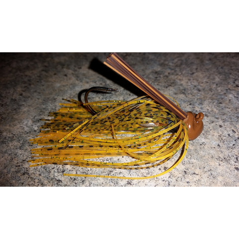 Mayfly - T&T Tackle, Depth Charge Flippin' Jig  Bass Jigs, Spinner Baits, Swim Jigs, Buzzbaits, Custom, Rod Sleeves, Fish Scent, Bass Tackle, Trapper Hooks, Swing Jigs, Wobble Heads