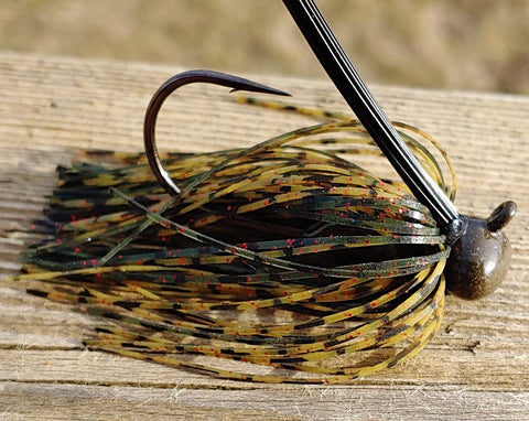 BackDraft Football Jig - Spiced Melon - T&T Tackle