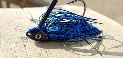 C-4 Swim Jig - Blueberry Jam - T&T Tackle, C-4 Swim Jigs  Bass Jigs, Spinner Baits, Swim Jigs, Buzzbaits, Custom, Rod Sleeves, Fish Scent, Bass Tackle, Trapper Hooks, Swing Jigs, Wobble Heads, Bass Tackle, Apparel, Fishing Line, Bass Braid, Fluorocarbon