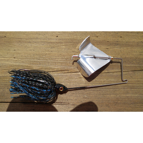 CrossFire Buzzbait - Cosmic Black & Blue - T&T Tackle, CrossFire Buzzbaits  Bass Jigs, Spinner Baits, Swim Jigs, Buzzbaits, Custom, Rod Sleeves, Fish Scent, Bass Tackle, Trapper Hooks, Swing Jigs, Wobble Heads, Bass Tackle, Apparel, Fishing Line, Bass Braid, Fluorocarbon