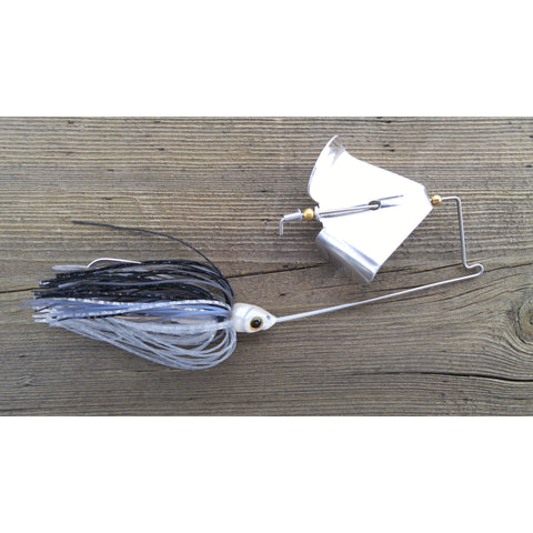 CrossFire Buzzbait - Shad - T&T Tackle, CrossFire Buzzbaits  Bass Jigs, Spinner Baits, Swim Jigs, Buzzbaits, Custom, Rod Sleeves, Fish Scent, Bass Tackle, Trapper Hooks, Swing Jigs, Wobble Heads
