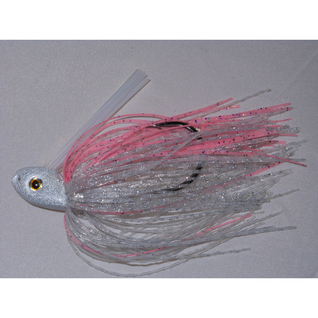 C-4 Swim Jig - Pink Divinity - T&T Tackle, C-4 Swim Jigs  Bass Jigs, Spinner Baits, Swim Jigs, Buzzbaits, Custom, Rod Sleeves, Fish Scent, Bass Tackle, Trapper Hooks, Swing Jigs, Wobble Heads, Bass Tackle, Apparel, Fishing Line, Bass Braid, Fluorocarbon