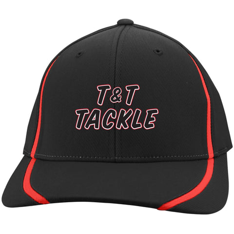 T&T Tackle -  Flexfit Colorblock Cap - T&T Tackle, Hats  Bass Jigs, Spinner Baits, Swim Jigs, Buzzbaits, Custom, Rod Sleeves, Fish Scent, Bass Tackle, Trapper Hooks, Swing Jigs, Wobble Heads, Bass Tackle, Apparel, Fishing Line, Bass Braid, Fluorocarbon