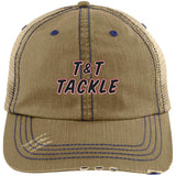T&T Tackle - Distressed Unstructured Trucker Cap - T&T Tackle