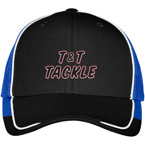 T&T Tackle - Colorblock Mesh Back Cap - T&T Tackle, Hats  Bass Jigs, Spinner Baits, Swim Jigs, Buzzbaits, Custom, Rod Sleeves, Fish Scent, Bass Tackle, Trapper Hooks, Swing Jigs, Wobble Heads, Bass Tackle, Apparel, Fishing Line, Bass Braid, Fluorocarbon