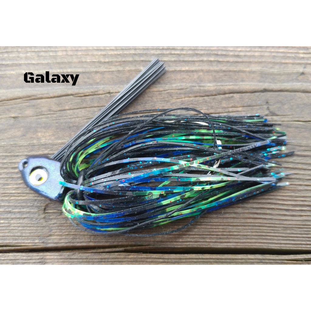 Galaxy - T&T Tackle, C-4 Swim Jigs  Bass Jigs, Spinner Baits, Swim Jigs, Buzzbaits, Custom, Rod Sleeves, Fish Scent, Bass Tackle, Trapper Hooks, Swing Jigs, Wobble Heads, Bass Tackle, Apparel, Fishing Line, Bass Braid, Fluorocarbon