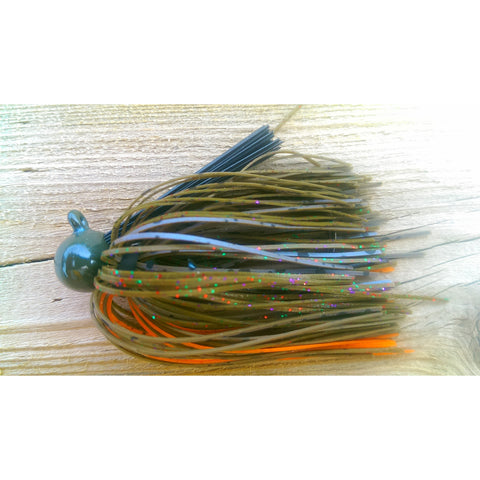Green Pumpkin Magic Craw - T&T Tackle, BackDraft Football Jigs  Bass Jigs, Spinner Baits, Swim Jigs, Buzzbaits, Custom, Rod Sleeves, Fish Scent, Bass Tackle, Trapper Hooks, Swing Jigs, Wobble Heads, Bass Tackle, Apparel, Fishing Line, Bass Braid, Fluorocarbon