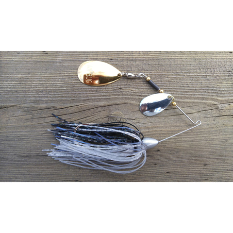 CrossFire Spinnerbait - Shad - T&T Tackle, CrossFire Spinnerbaits  Bass Jigs, Spinner Baits, Swim Jigs, Buzzbaits, Custom, Rod Sleeves, Fish Scent, Bass Tackle, Trapper Hooks, Swing Jigs, Wobble Heads, Bass Tackle, Apparel, Fishing Line, Bass Braid, Fluorocarbon