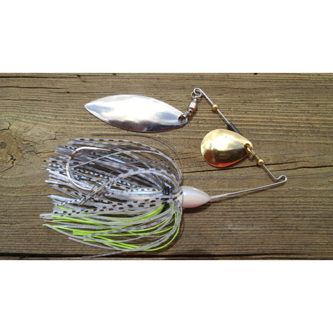 CrossFire Spinnerbait - Dirty Herring - T&T Tackle, CrossFire Spinnerbaits  Bass Jigs, Spinner Baits, Swim Jigs, Buzzbaits, Custom, Rod Sleeves, Fish Scent, Bass Tackle, Trapper Hooks, Swing Jigs, Wobble Heads