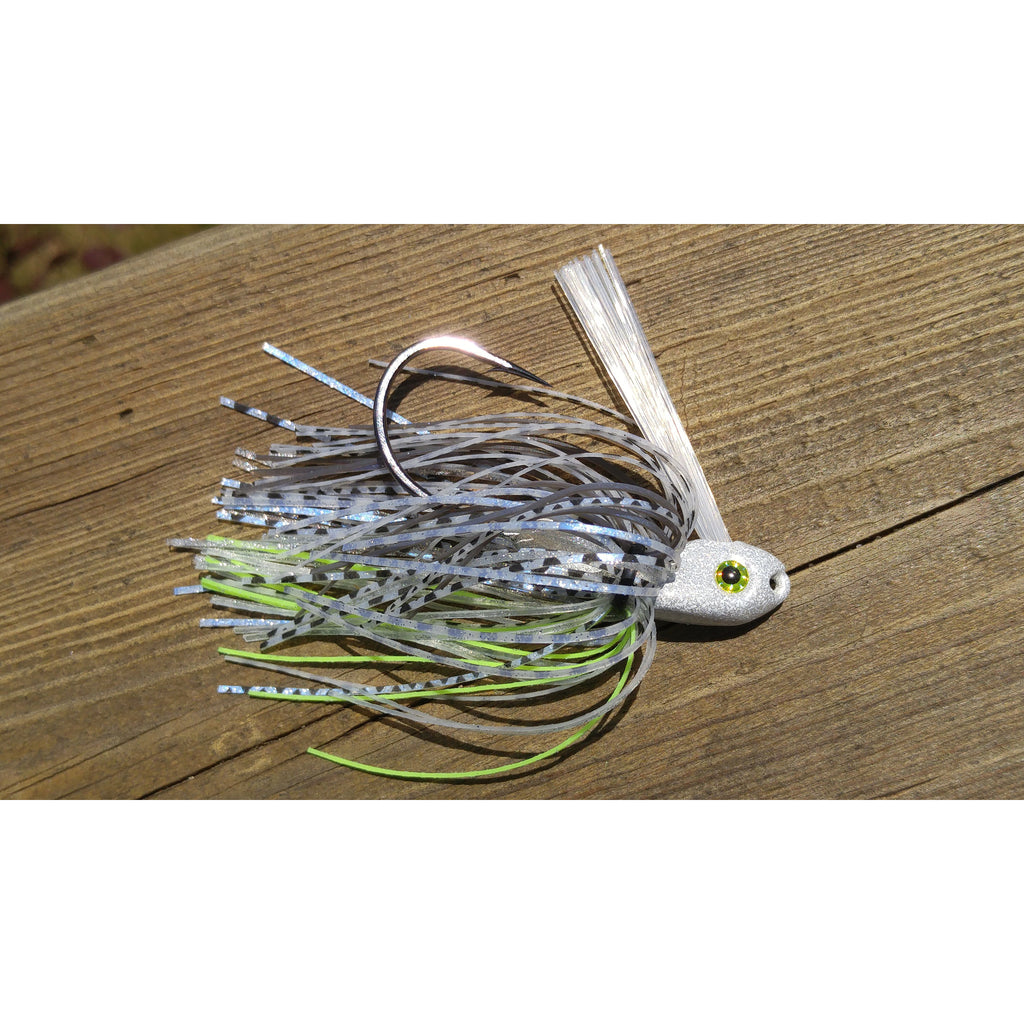 C-4 Swim Jig - Dirty Herring - T&T Tackle, C-4 Swim Jigs  Bass Jigs, Spinner Baits, Swim Jigs, Buzzbaits, Custom, Rod Sleeves, Fish Scent, Bass Tackle, Trapper Hooks, Swing Jigs, Wobble Heads, Bass Tackle, Apparel, Fishing Line, Bass Braid, Fluorocarbon
