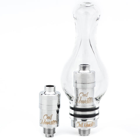 Monster Globe 510 Atomizer (Titanium Sub-Ohm Cartridges)
