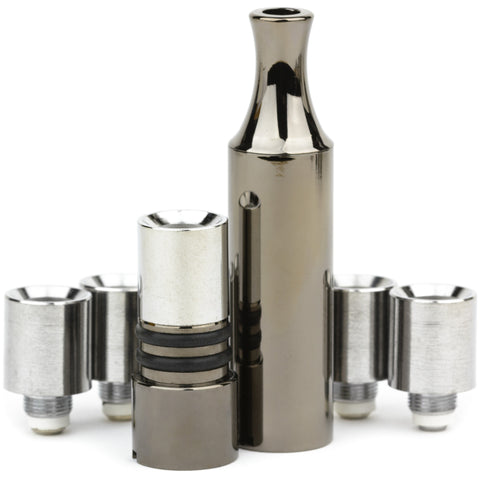Black Nickel Full Metal Hitter with 4 Replacement Cartridges