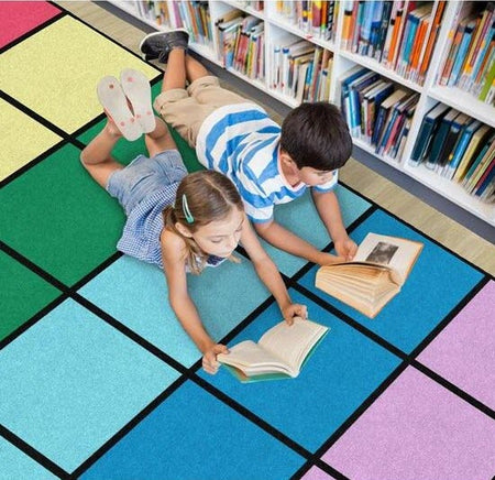 classroom seating rugs