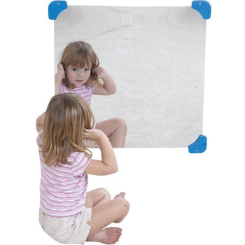 "24"" x 24"" Square Shatter Resistant Mirror"
