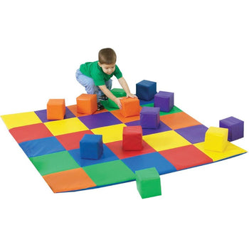 Joey's Matching Mat and Blocks Set - CF322-047